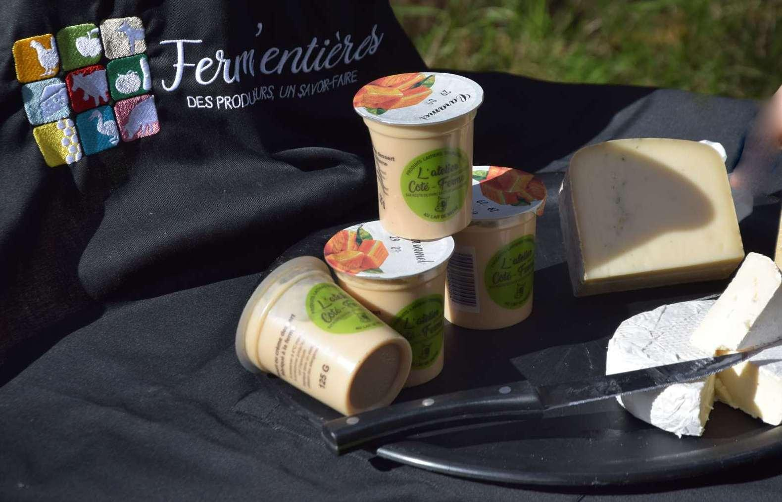 Fromage atelier cote ferme